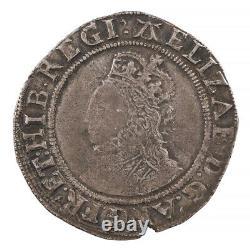 Elizabeth I Silver Shilling, Sixth Issue'A' Mint Mark, 1582-84