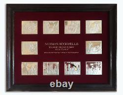Franklin Mint Rockwell Mark Twain Ingots