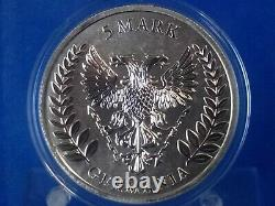 Germania 2019 Silver Silber 999 1 Oz 5 Mark Lot 3 Coins Bu Perfect 1^ Issue