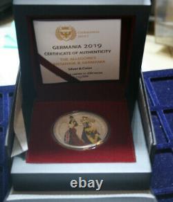 Germania Mint 5 Mark 2019 Allegories of Britannia & Germania #F3603 nur 250