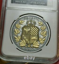 Germania Mint 5 Mark 2019 Allegories of Britannia & Germania #F4148 nur 250
