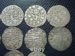 HUNGARY / MATHIAS I. HUNYADI (1458-1490) SILVER DENAR SERIES / different MINTMARK