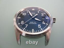 IWC Mark XVI 16 Pilot Watch Stainless Black Sapphire 39mm MINT, Box, Papers