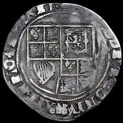James I, 1603-25. Hammered Silver Shilling, Mint Mark Coronet, 1607-9
