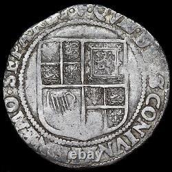 James I, 1603-25. Hammered Silver Shilling, Mint Mark Lis