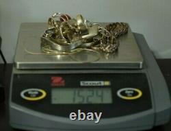 Jewelry Lot Sterling Silver All Marked 152.4 g Rings Bracelets Earrings ETC