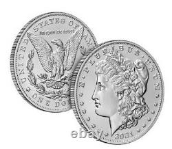 LOT OF 40 Morgan 2021 Silver Dollar with CC & O Privy Marks, 20 OF EACH TYPE