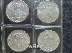Lot of 20 UNC Morgan Dollars Random Dates and mint marks (Including 1883 CC)