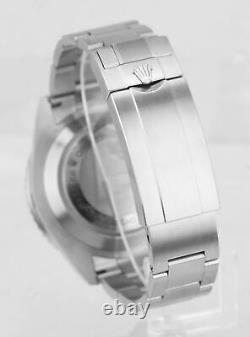 MINT 2018 Rolex Red Sea-Dweller 43mm Mark II 50th Anniversary Steel 126600 Watch