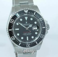 MINT 2019 PAPERS Mark II Rolex Red Sea-Dweller 43mm 126600 Steel Watch Box
