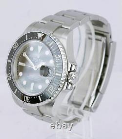 MINT 2019 Rolex Red Sea-Dweller 43mm Mark II 50th Anniversary Steel 126600 Watch