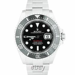 MINT 2020 Rolex Red Sea-Dweller 43mm Mark II 50th-Anniversary 126600 Watch B+P