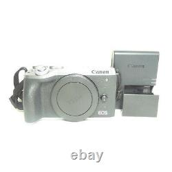MINT Canon EOS M6 Mark II 32.5MP Mirrorless Camera Silver (Body Only)