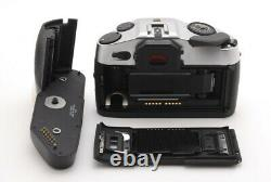 MINT Leica R8 Silver 35mm Sh Mark SLR Film Camera Body withWinder Japan #2035