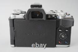MINT Olympus OM-D E-M5 Mark II Mark2 Mirrorless Digital Camera Body Silver EM5