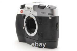 MINT sh Mark Leica R8 Silver 35mm SLR Film Camera Body withWinder Japan #2035