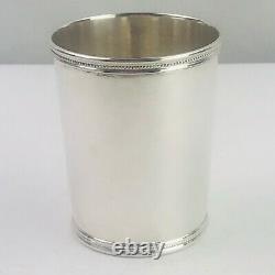 Mark J Scearce Kentucky Sterling Silver DDE Dwight D Eisenhower Mint Julep Cup
