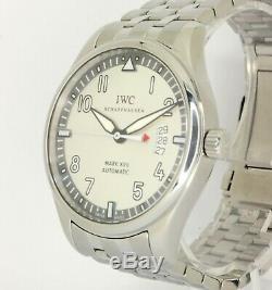 Mint IWC PILOT MARK XVII 41mm Stainless Steel bracelet grey dial IW326504 Box
