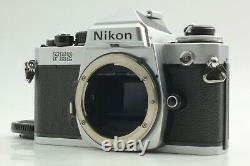 Mint Nikon FE2 35mm SLR Camera Body Red D Mark From Japan #386