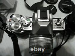 Mint Olympus OM-D E-M10 Mark III 16.1MP Camera with 3 lens14-42mm+9-18mm+14-150mm