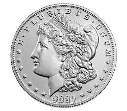 Morgan 2021 Silver Dollar (3) with (S) Mint Mark (Pre-sale) Ships in Oct