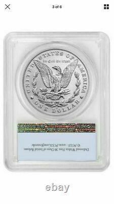 Morgan 2021 Silver Dollar D Mint Mark PCGS MS70 First Strike 100th Anniversary