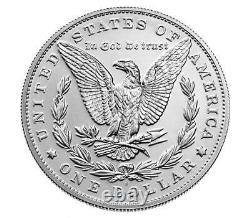 Morgan 2021 Silver Dollar With (S) Mint Mark, Confirmed Order PRE-ORDER