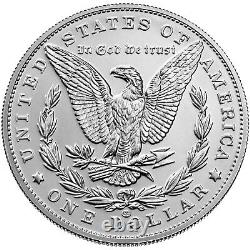 Morgan 2021 Silver Dollar with CC Privy Mark Presale US Mint Ships In Fall