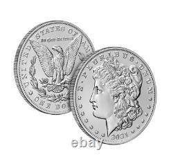 Morgan 2021 Silver Dollar with (D) Mint Mark