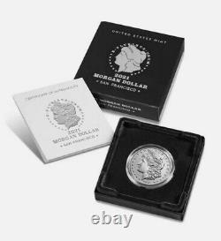 Morgan 2021 Silver Dollar with (D) Mint Mark Confirmed Order shipped in oct