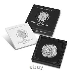 Morgan 2021 Silver Dollar with (D) Mint Mark PRE ORDER