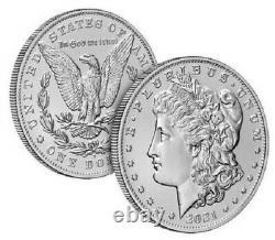 Morgan 2021 Silver Dollar with (D) Mint Mark PRESALE (Ships October)