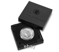 Morgan 2021 Silver Dollar with D Mint Mark (Pre-Sale Ships in 30 Days)