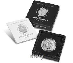 Morgan 2021 Silver Dollar with (D) Mint Mark PresaleSHIPS IN OCTOBER