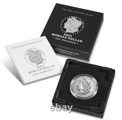 Morgan 2021 Silver Dollar with (S) Mint Mark-21XF-PRESALE SHIPS OCT-Limited