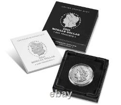 Morgan 2021 Silver Dollar with (S) Mint Mark Confirmed Limited Availability