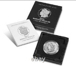 Morgan 2021 Silver Dollar with S Mint Mark Confirmed PreOrder
