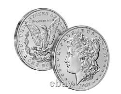 Morgan 2021 Silver Dollar with (S) Mint Mark (Pre-Order) Confirmed Order