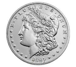 Morgan 2021 Silver Dollar with (S) Mint Mark. PreOrder