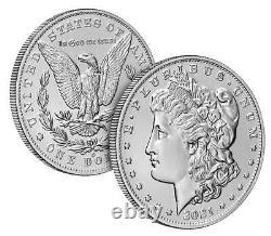 Morgan 2021 Silver Dollar with (S) Mint Mark San Francisco CONFIRMED PREORDER