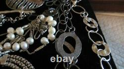Nice Silpada Sterling Silver Lot, 1 Mixed Metal, 17 Pieces, All Marked, Tarnish