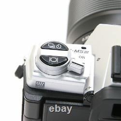 OLYMPUS OM-D E-M5 Mark III 14-150mm II Lens Kit Silver -Near Mint- #323