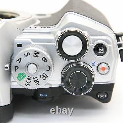 OLYMPUS OM-D E-M5 Mark III Body Silver -Near Mint- #248