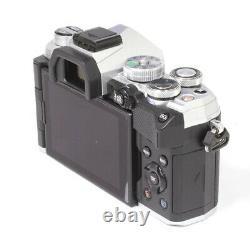 Olympus OM-D E-M5 EM5 Mark III Digital Camera Body Only Silver MINT