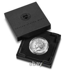 PRESALE 2021 Peace Silver Dollar P Mint Mark (1 Coin)