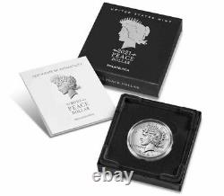 Peace 2021 Silver Dollar P Mark Philadelphia US MINT Confirmed Presale 21XH