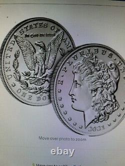Pre Sale Us Mint 2021 Morgan Dollar O Privy Mark Confirmed Order Lot Of 10