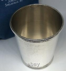 Sterling Silver Mark J Scearce Presidential Mint Julep Cup Richard Nixon RMN