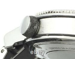 Tiffany Mark T-57 Quartz Resonator Chronograph Diver Dive Watch + Orig Bracelet