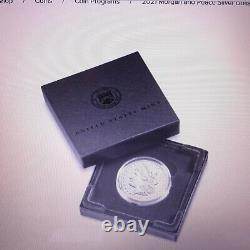 US MINT 2021 Morgan Silver Dollar with O Privy Mark. Pre- Sale CONFIRMED ORDER
